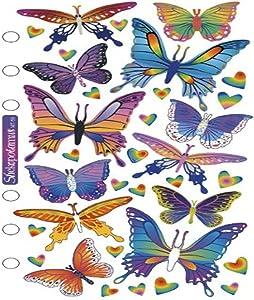 Sticko SPMT59 Classic Stickers, Foil Butterflies