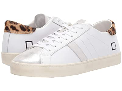 D.A.T.E. Hill Low (White/Pop Leopard) Women