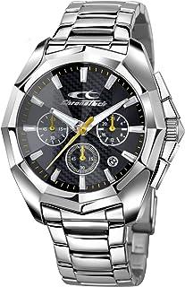 Orologio CHRONOTECH per uomo IDOL con bracciale in acciaio, movimento CHRONO QUARZO