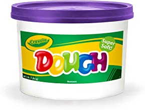 Crayola Dough, Purple, 3 Pound Resealable Bucket Super Soft Compound Is Ideal For Little Hands, Crumble Free Modeling Dough, Create Shapes and Designs, Great for Kids & Toddlers 3 & Up