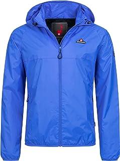 Höhenhorn Rigi Chaqueta para Lluvia para Hombre Chaqueta para Lluvia Outdoor Rain Casual Chaqueta con Capucha para Lluvia
