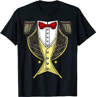 Circus Ringmaster Halloween Costume | Funny Showman DIY Gift T-Shirt