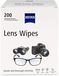 Zeiss Pre-Moistened Lens Cleaning Wipes (200 ct