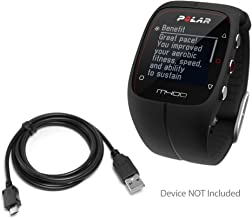 Polar M400 Cable, BoxWave® [DirectSync Cable] USB to Micro USB Charge and Sync Cable for Polar Devices including Polar A360