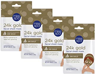 Best miss spa 24k gold sheet mask Reviews