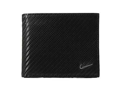 de textura de negra Nike Cartera carbono fibra con billetera wqyBFtIz