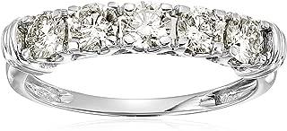 Best 14k white gold 5-stone diamond ring Reviews
