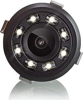 XOMAX XM-018 Universele auto achteruitrijcamera set met 8 LED-lampjes voor goed nachtzicht, parkeerhulp met gekleurde lijn...