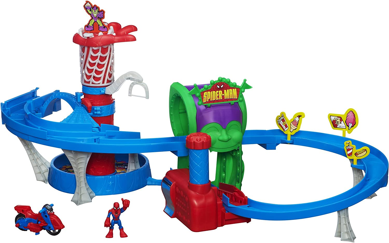 Con 100% de calidad y servicio de% 100. Spiderman - Circuito para coches de juguete juguete juguete cm (A0680)  ordenar ahora
