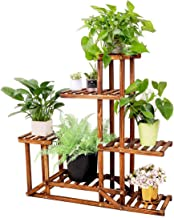 Plant Stand Wooden Shelf Tiered Flower Rack Holder Planter Pots Shelves Display Multiple..