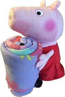 Entertainment One UK Pig Plush Pillow Hugger and Throw Blanket