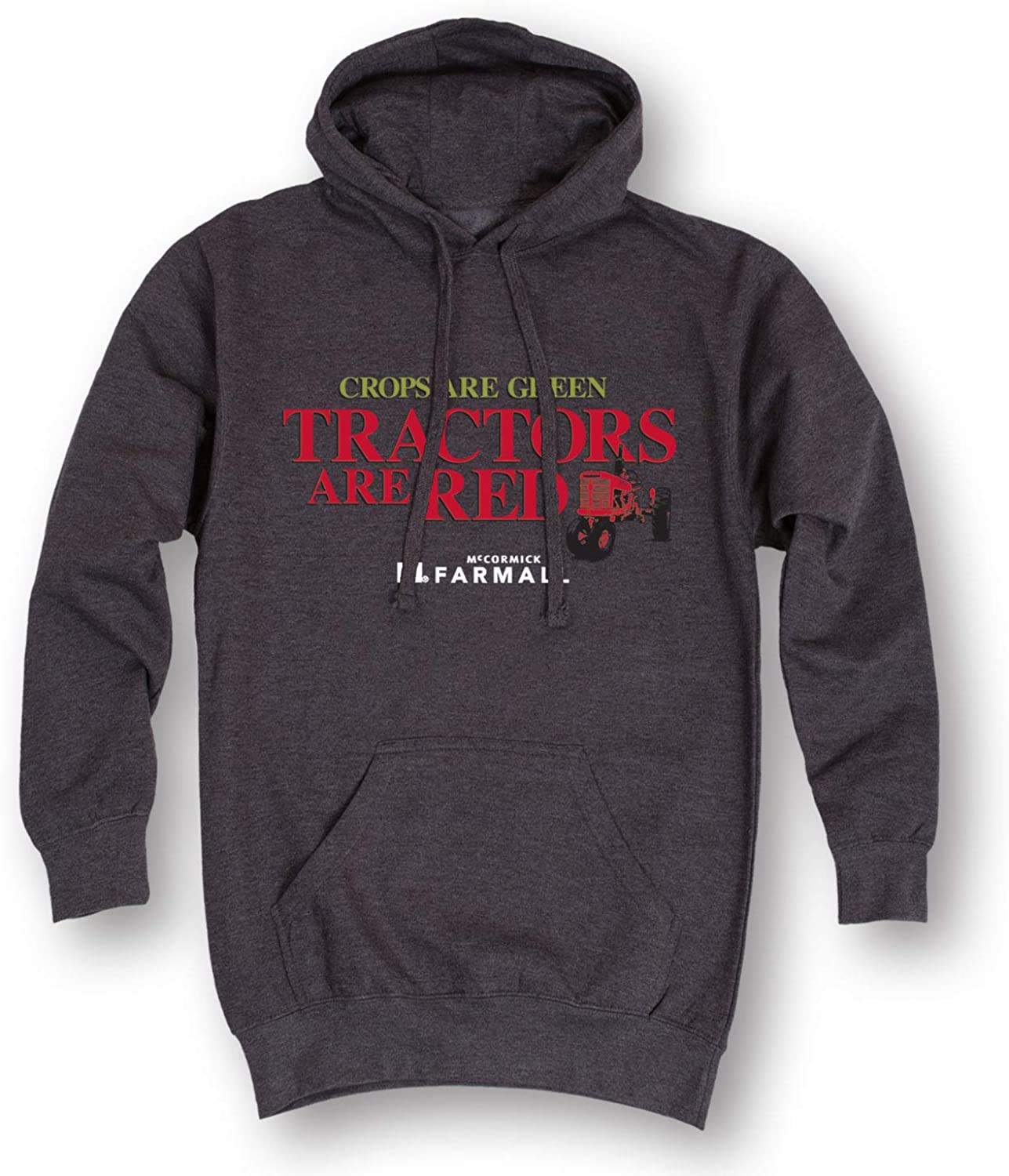 Low price Crops Are Green Tractors Red Indefinitely Pullover Men's - Hoodie