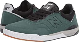 Emerald/Black Suede