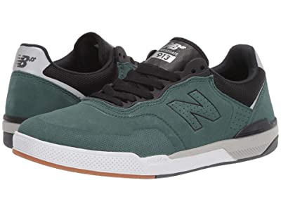 New Balance Numeric 913 (Emerald/Black Suede) Men