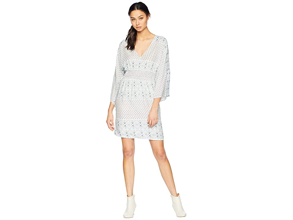 Roxy Free Mind Temple Dress (Marshmallow Summer Dance) Women