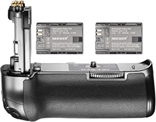 Neewer NW-5D Mark IV Replacement Canon BG-E20 Battery Grip with 2 Pack Rechargeable 7.4V 2000mAh LP-E6 Batteries, Suitable...