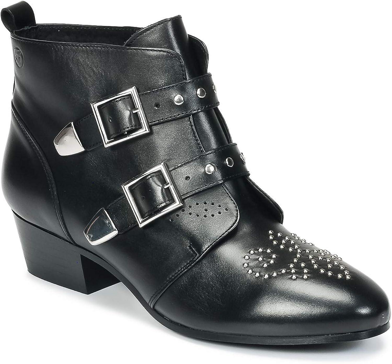 Betty london Heba Heba Stiefelletten Stiefel Damen Schwarz - 38 - Stiefel  neu eingebrannt