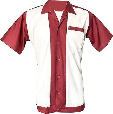 1950s/1960s Rockabilly, Bowling, Retro, Vintage Camisa para ...