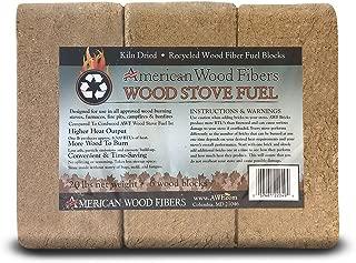wood stove fuel blocks