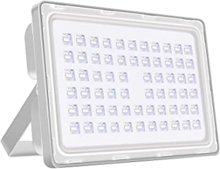 Viugreum 200W LED Flood Light Outdoor, Thinner and Lighter Design, Waterproof IP65, 20000LM Daylight White (6000-6500K), Super Bright Security Stadium Lights for Garden, Yard, Fast Shipping from USA