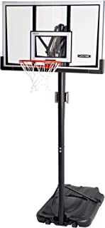 Lifetime 90061 Portable Basketball System, 52 Inch Shatterproof Backboard,Black