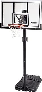 Lifetime 90061 Portable Basketball System, 52 Inch Shatterproof Backboard