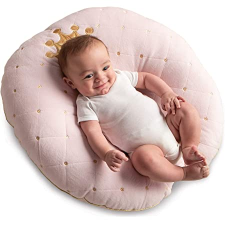 Light Blue Great Newborn Gift Idea for Cosleeping Extra Soft Portable Bassinet Pillow Nest for Infant w//Washable Breathable Cotton Cover /& Travel Bag Baby Lounger w//Free Bonus Blankie
