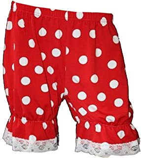 Minnie Red & White Polka Dot Short Bloomers