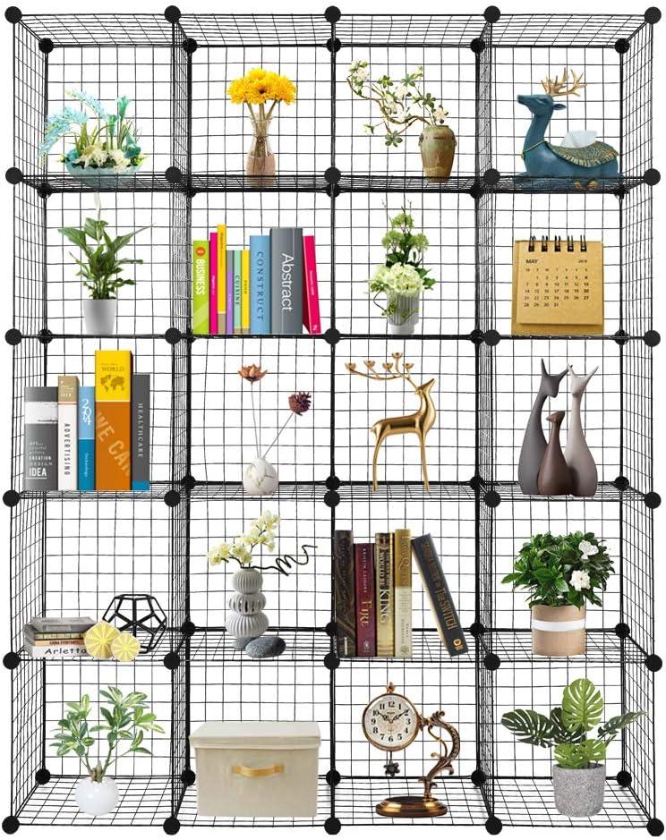 EBLSE 20-Cube Organizer Cube 2021 new Storage O Wire Shelves Max 62% OFF