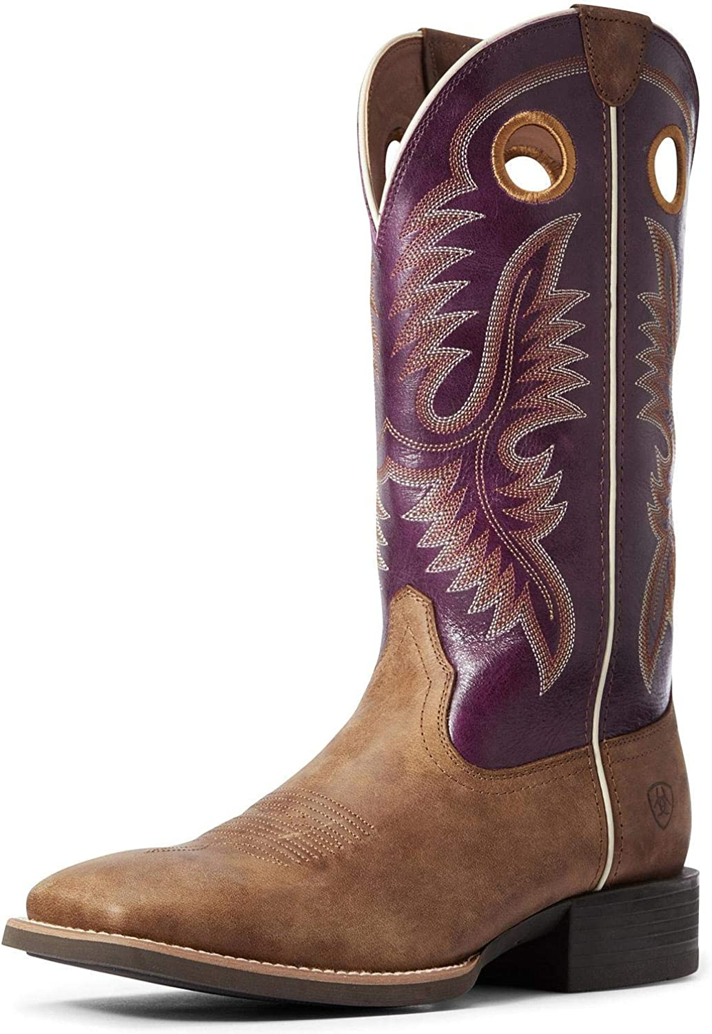 ARIAT Men's Sport Limited time cheap sale Teamster Western Boot 100339 lowest price Toe - Wide Square