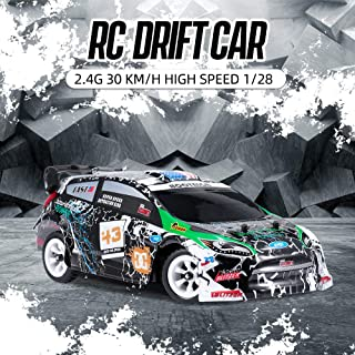 WLtoys K989 RC Car 1/28 RC Drift Car 2.4G 30KM/H High Speed RC Car 4WD RC Race Car RC Sport Racing Drift Car Kids Gift
