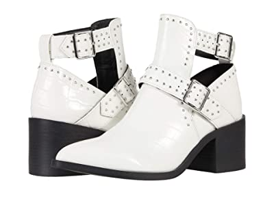 Steve Madden Andy Boot (White Croco) Women