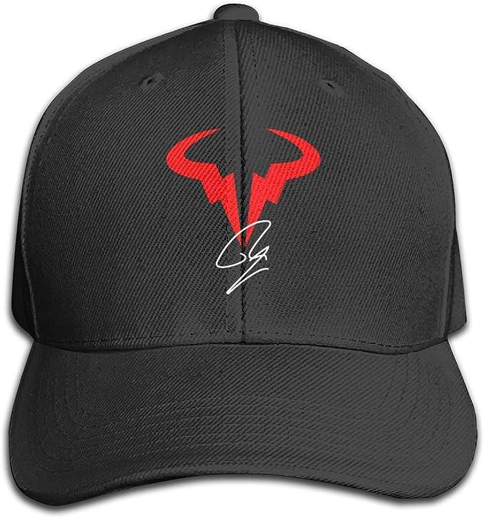 Kalinanai Sombrero del Camionero de Las Gorras de béisbol Rafael-Nadal-Spanish-Tennis-Player Hat Cap Men Women Breathable Hat Ponytail Cap