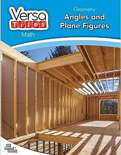 hand2mind VersaTiles Math Books Grade 4 (Geometry: Angles and Plane Figures)