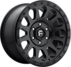 FUEL Vector BD -Matte BLK Wheel with Painted (16 x 12. inches /6 x 139 mm, 20 mm Offset)