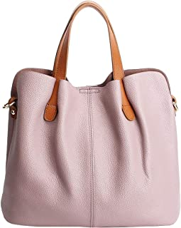 Womens Satchel Hobo Top Handle Tote Genuine Leather Handbag Shoulder Purse