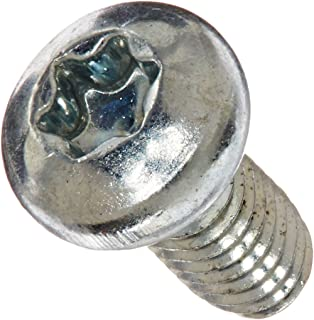 TX Diameter 2 mm x Length 12 mm Pan Head with 6-Lobe Drive Screwerk Screw for Plastics 100 pc A2 Stainless Steel