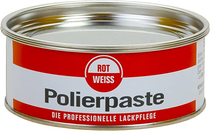 Rotweiss 1100 Rot Weiss Polierpaste 200 Ml Silikonfrei Auto