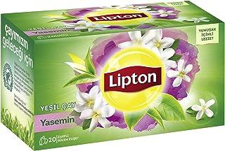 Lipton Berrak Yaseminli Bardak Poşet Yeşil Çay, 20'Li