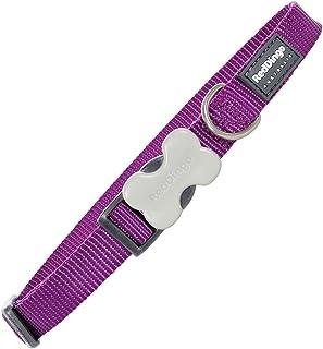 Trilus DC-ZZ-PU-20 nylon hundhalsband, violett, M