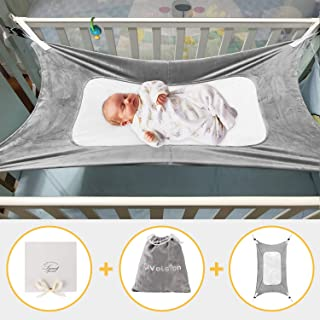 Baby Hammock for Crib,Mimics Womb,Newborn Bassinet,Strong Material,Upgraded Safety Measures,Infant Nursery Travel Bed Reduce Environmental Risks Associated with Early Infancy Baby Shower Gift