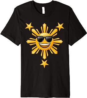 Philippine Flag Shirts | Happy Sun Filipino Gifts Premium T-Shirt