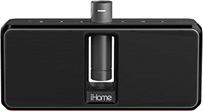 iHome iKN150B Portable Rechargeable Bluetooth Stereo Speaker System