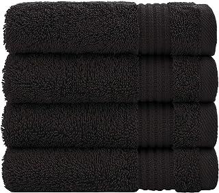 Milano 700GSM 100/% Cotton Bath Sheets Black
