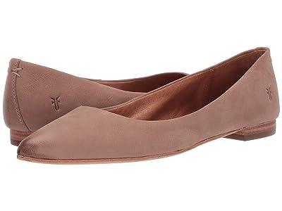 Frye Sienna Ballet (Dark Taupe) Women