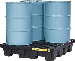 Justrite 28637 EcoPolyBlend 75 Gallon Sump Capacity, 49