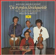 モーツァルト Mozart 弦楽四重奏曲 String Quartet 14~23番