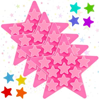 Stars Shape Chocolate Silicone Mould Mold Star Tin Cake Topper Ice Tray Mold GG