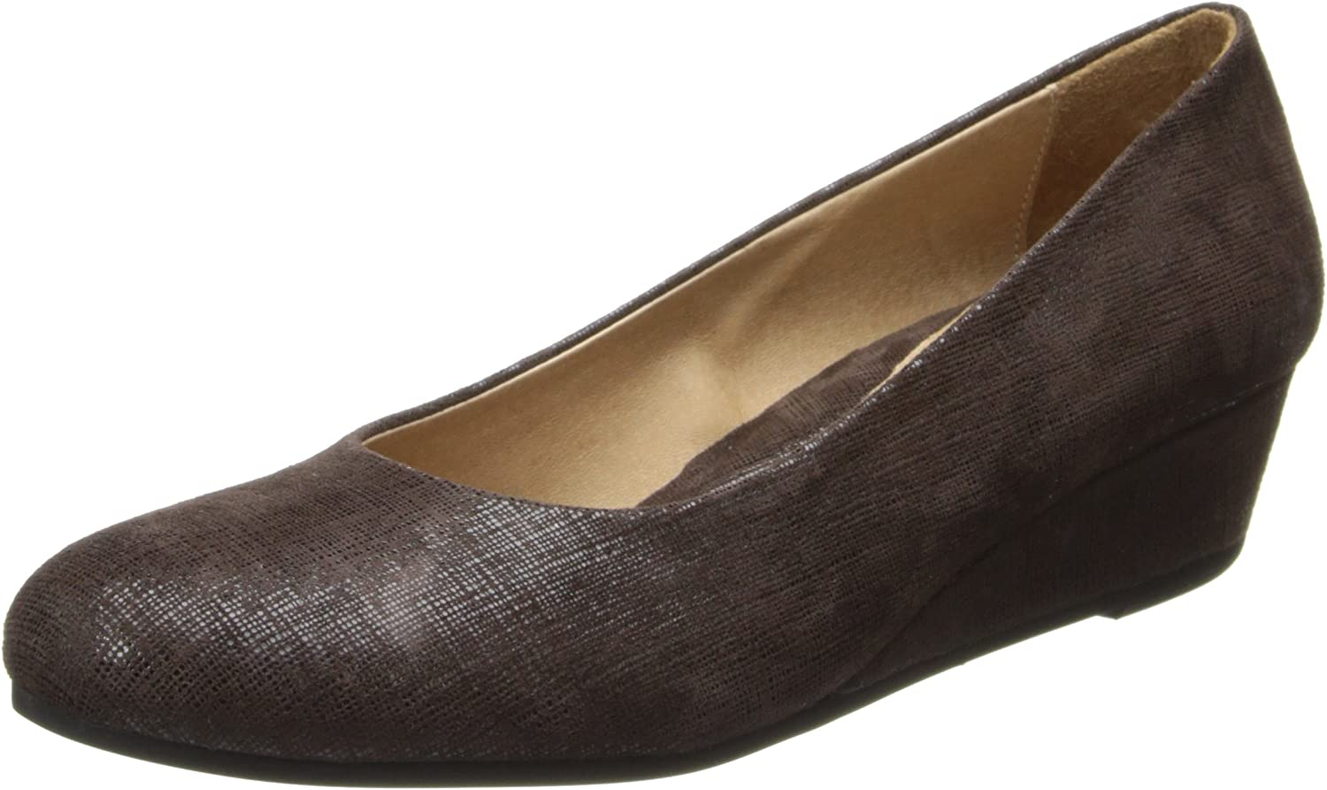 French Sole FS NY Women's Gumdrop Wedge Pump