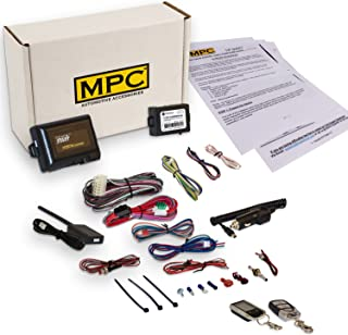 MPC Complete 2-Way LCD Remote Start Kit with Keyless Entry for 2003-2009 Toyota 4Runner - with Bypass - Firmware Preloaded